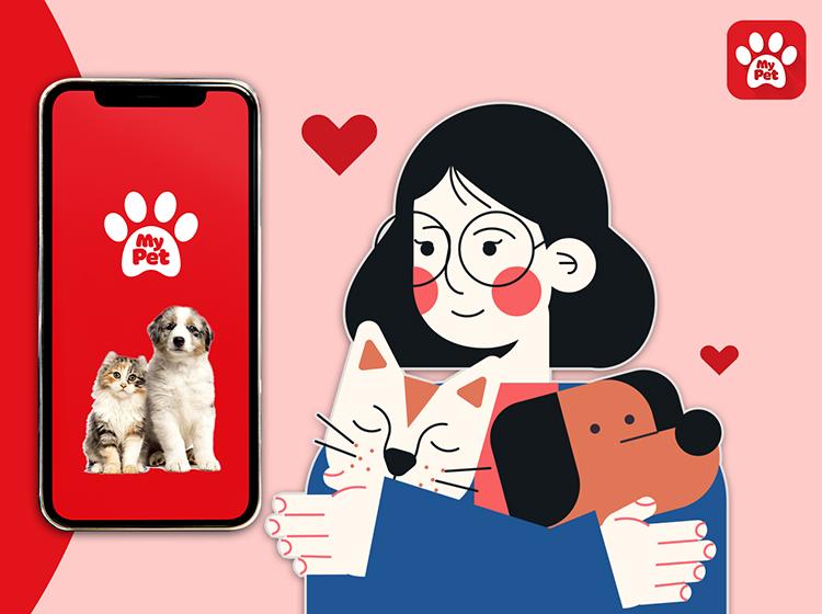 ứng dụng chăm sóc thú cưng Mypet