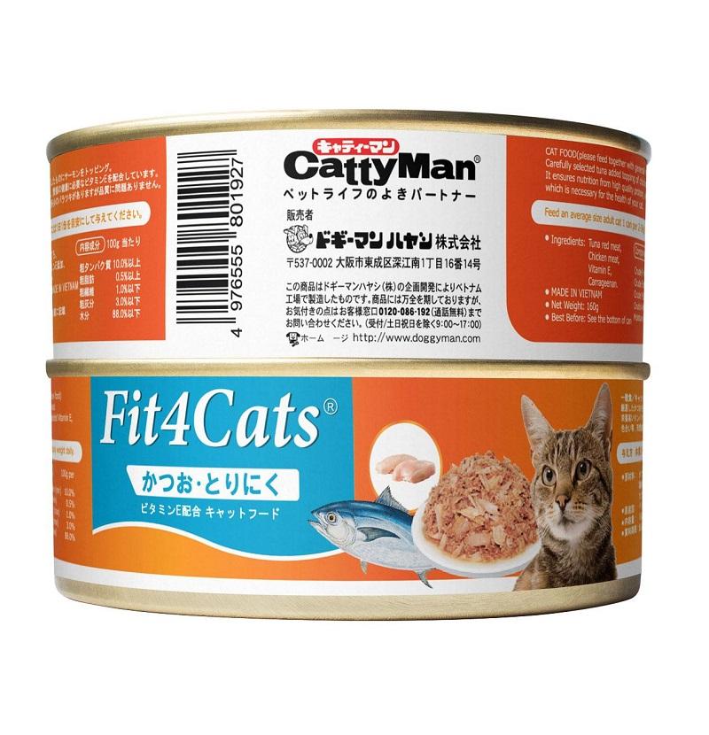 Cá ngừ đóng hộp cho mèo con