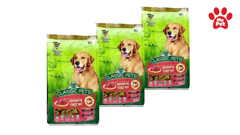 Thức ăn cho chó Classic Pets