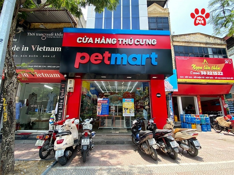 Shop phụ kiện chó mèo Pet Mart