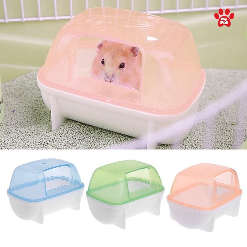 Phòng tắm chuyên dụng cho hamster