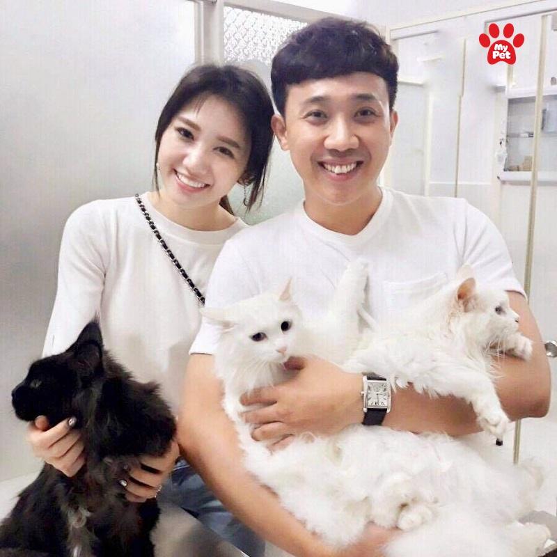 Gia đình hạnh phúc của hai vợ chồng nhà Trấn Thành- Hari Won